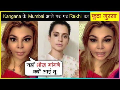 Rakhi Sawant SLAMS Kangana Ranaut, Supports Karan Johar & Nepotism In Bollywood