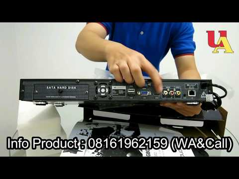 UNBOXING KARAOKE PLAYER AUDIOBANK AB3000 - UTAMA AUDIO