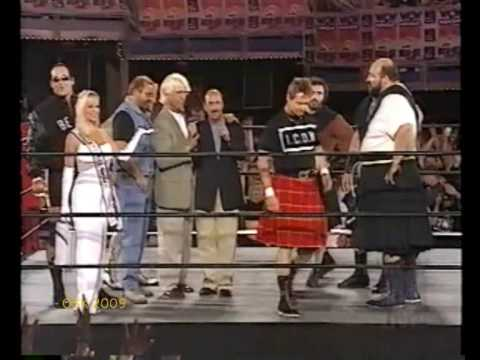The Four Horseman join forces with Roddy Piper -10/3/97-