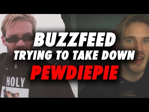 Buzzfeed Is Trying To Take Down PewdiePie - Forge Labs