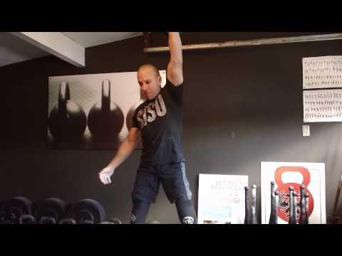 22 kg snatch  8/8 set 7