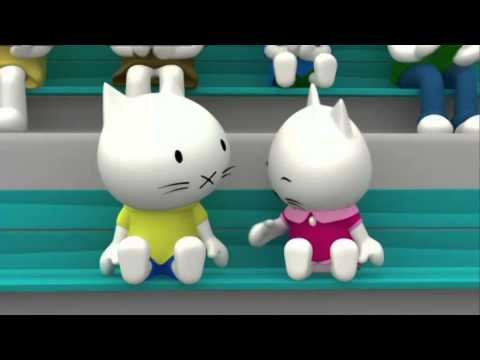 Обучающие мультфильмы - Котёнок Мусти - сборник 3 (видео)