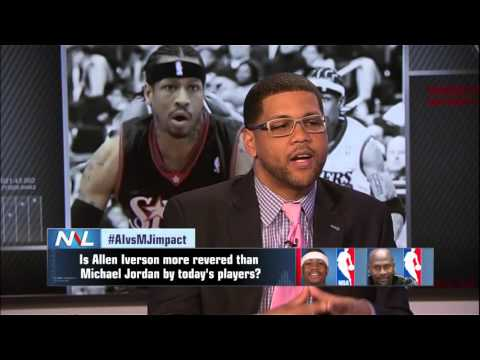 Allen Iverson vs Michael Jordan - Who Impacted Today's NBA Players More