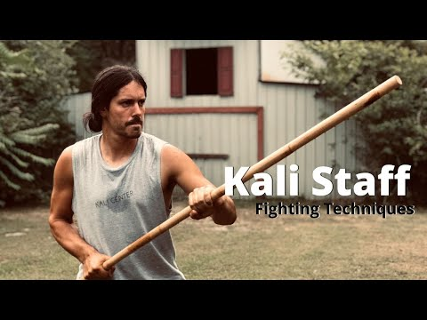 Staff Fighting Techniques and Short Form - Kali Escrima Arnia