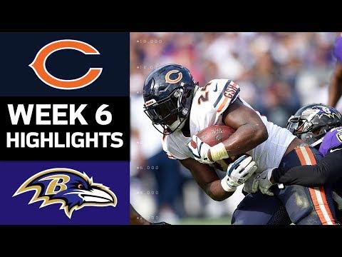 Bears vs. Ravens | NFL Week 6 Game Highlights - Thời lượng: 7:54.