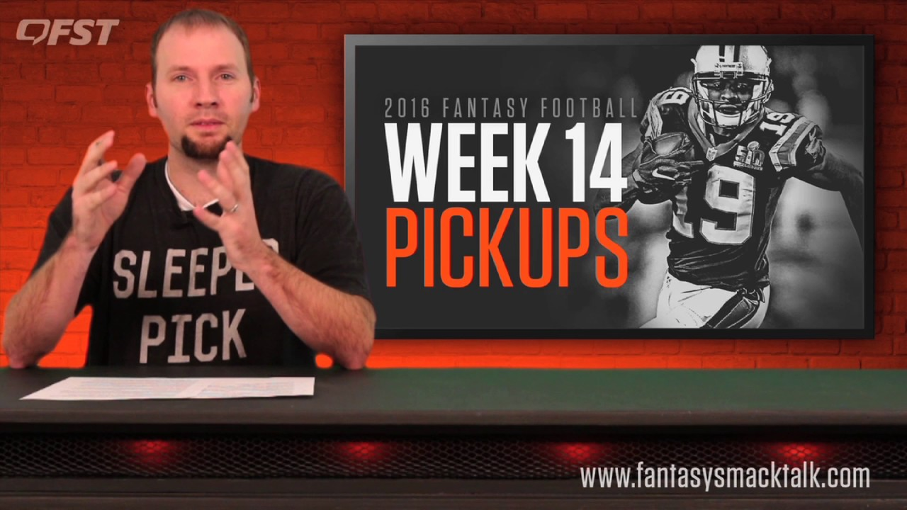 Fantasy Football: Week 14 Waiver Wire thumbnail