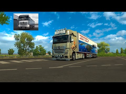 Release MB Actros MP4 sound final (update 21-02-18) 1.30