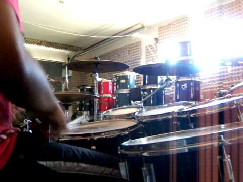 South African drummer Riley G drum solo 2014