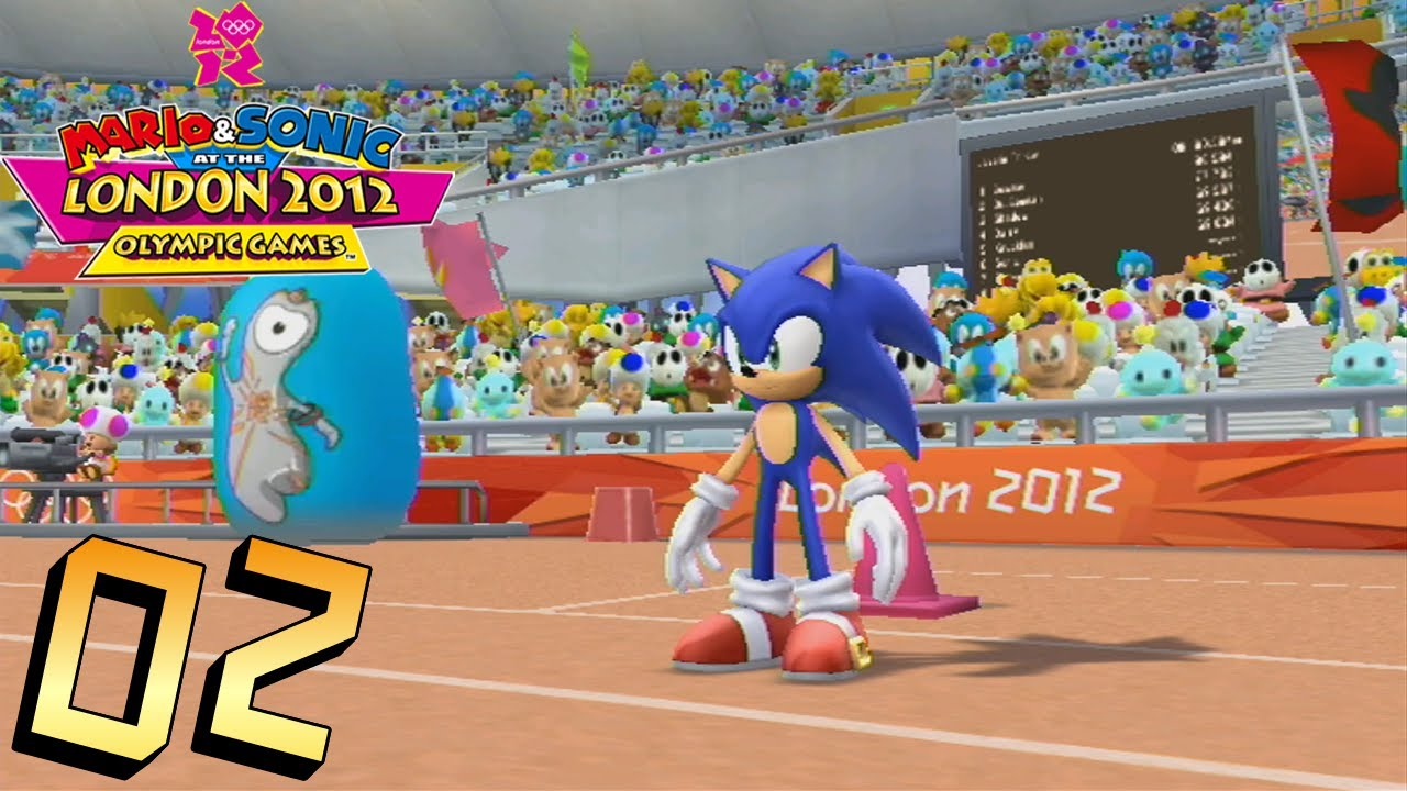 Mario and Sonic at the London 2012 Olympic Games: Part 2 – Athletics (Field)