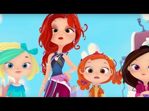 Сказочный патруль - Сборник серий 16, 17, 18 - Мультфильм о девочках - волшебницах (видео)