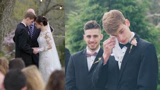 21 Year Olds Share Their Wedding Vows *groom cries* by Chelsea Crockett