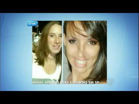 Irmãos atropeladas por bandidos são enterradas em São Bernardo do Campo (SP)