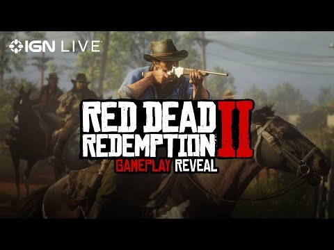 Red Dead Redemption 2: Gameplay Reveal - IGN Live онлайн видео