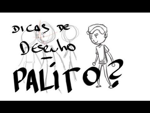 desenho e boneco palito - Nesse vídeo eu falo um pouco sobre como usar bonecos palito para treinar seu desenho. Esse vídeo vai principalmente pra quem não está conseguindo desenhar na...