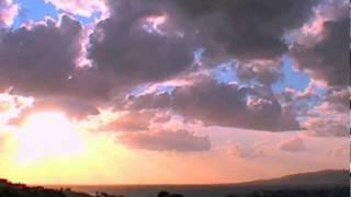 Chronophotographie Couché de Soleil en Corse Best TimeLapse Sunset from Corsica