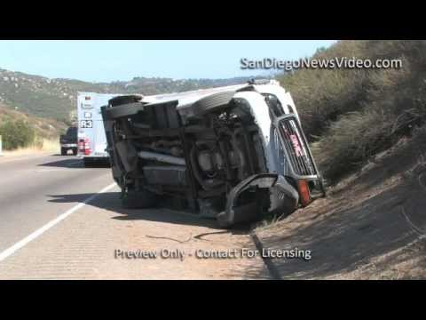haul truck crash - ALPINE - June 9, 2012 - An unknown number of occupants, possibly 2, were driving a U-Haul box van eastbound on Interstate 8 towards Tavern Rd. The vehicle ra...