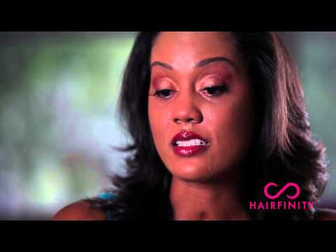 testimonial - Thank you to Torsha for sharing her hair growth story. After a life altering accident in 2011, Torsha begain using Hairfinity after having her head shaved du...
