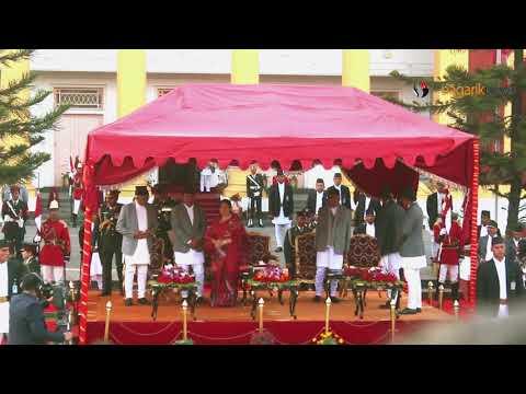 (Oath Taking Ceromany of Prime Minister KP Sharma Oli...5 min, 12 sec.)
