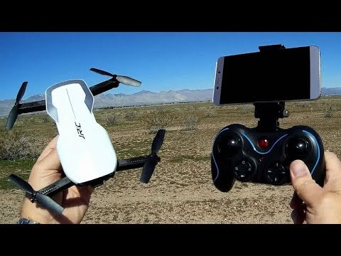 JJRC H71 Optical Flow FPV Camera Drone Flight Test Review