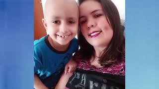 Mãe faz rifa para ajudar no tratamento de câncer do filho