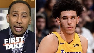 Lonzo Ball is 'starting to scare me' - Stephen A. | First Take