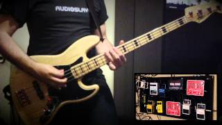 Royal Blood - Come on Over - Bass Cover - performed by Adam Flanagan with Fake guitar sound