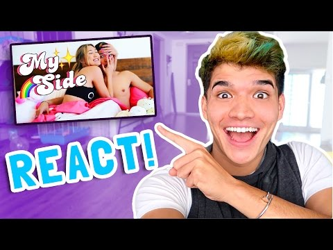 Reacting To My First Song Ever!