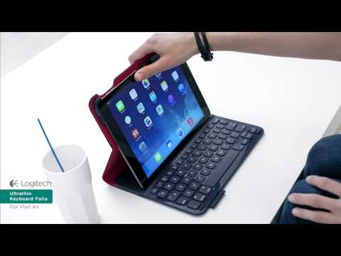 Logitech Ultrathin Keyboard Folio for iPad Air ($99.99)