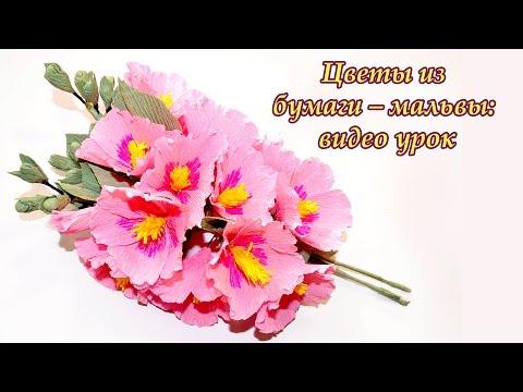 Цветы из конфет видео уроки