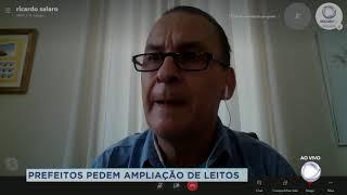 Prefeito de São Manuel participa de reunião na capital em busca de mais leitos  para a região