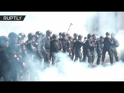 Новые масштабные протесты в Киеве