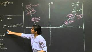 Trace-Determinant Diagram | MIT 18.03SC Differential Equations, Fall 2011