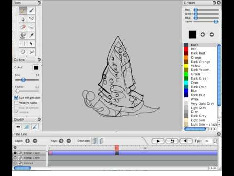 Pencil2D Video Tutorial Playlist