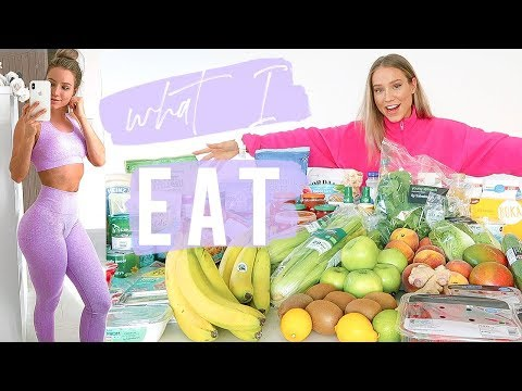 WHAT I EAT TO GET LEAN | MY HEALTHY GROCERY HAUL