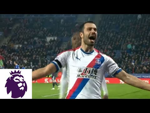Video: Milivojevic's penalty kick makes it 3-1 for Palace v. Leicester City | Premier League | NBC Sports