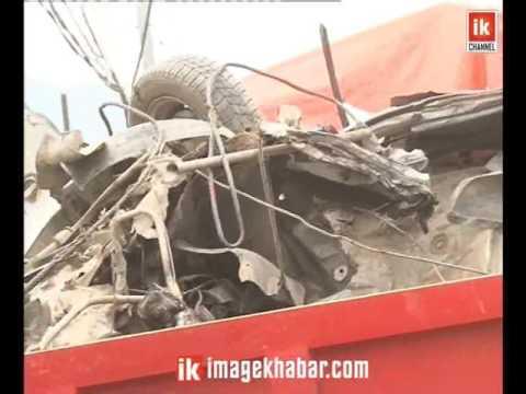 ट्रकको 'ब्रेकफेल' हुँदा काठमाडौंमा 'भयानक' दुर्घटना, दुईजनाको मृत्यु, पाँच घाइते