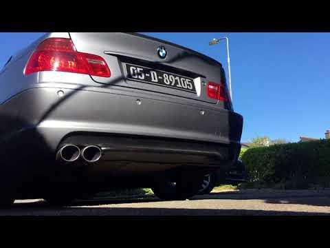 BMW E46 325Ci Rear Muffler Delete