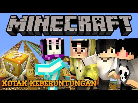 BENCANA KOTAK KEBERUNTUNGAN ft. 4Brothers | Minecraft Indonesia Lucky Block Race