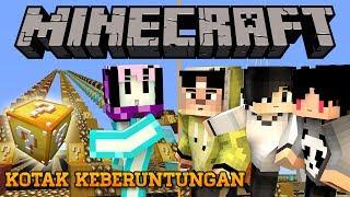 Video BENCANA KOTAK KEBERUNTUNGAN ft. 4Brothers | Minecraft Indonesia Lucky Block Race MP3, 3GP, MP4, WEBM, AVI, FLV Desember 2017