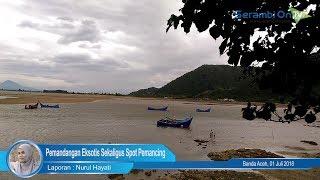 Ujong Pancu, Pemandangan Eksotis Sekaligus Spot Pemancing