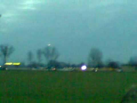 ufo ripreso nelle campagne di bergamo