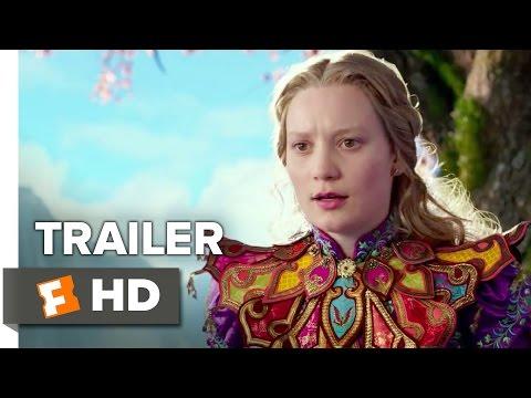 Alice Through the Looking Glass TRAILER 2 (2016) - Mia Wasikowska Sequel HD