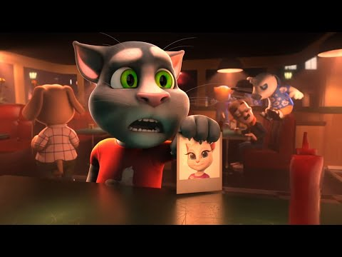 Where's Angela? - Talking Tom And Friends | Season 4 Episode 1