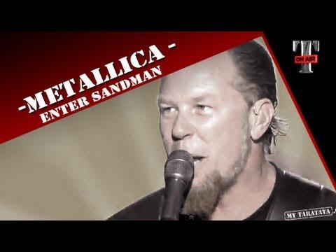 Metallica - Enter Sandman - Live on TV (TARATATA - Oct.2008)