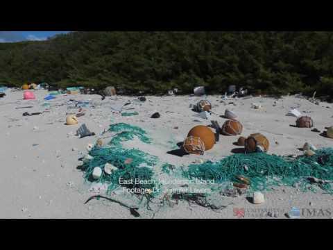 Eräs maailman syrjäisimmistä saarista on surullinen näky – Muoviroskaa ranta täynnä