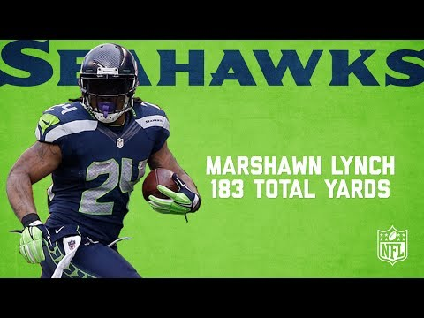 Video: Marshawn Lynch Highlights from 183-Yard NFC Championship Game | Packers vs. Seahawks (2014) | NFL