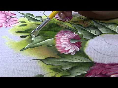 Mulher.com 31/05/2013 Luciano Menezes - Pintura em tecido