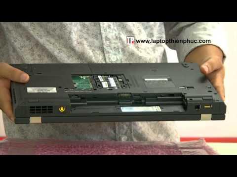 Hướng dẫn vệ sinh lắp ráp IBM THINKPAD W520