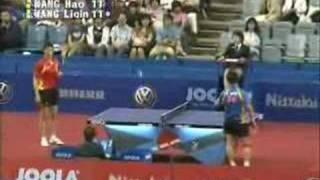 Wang Liqin aи Wang Hao