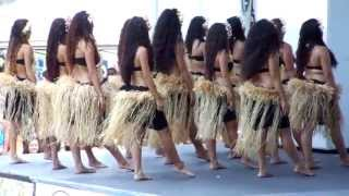 Tahitian performance by young dancers of Hula Halau o Lilinoe a Na Pua Me Ke Aloha.